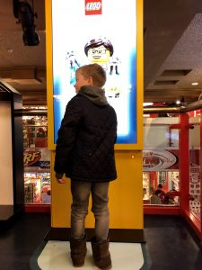 Days out with the family, Hamleys, London