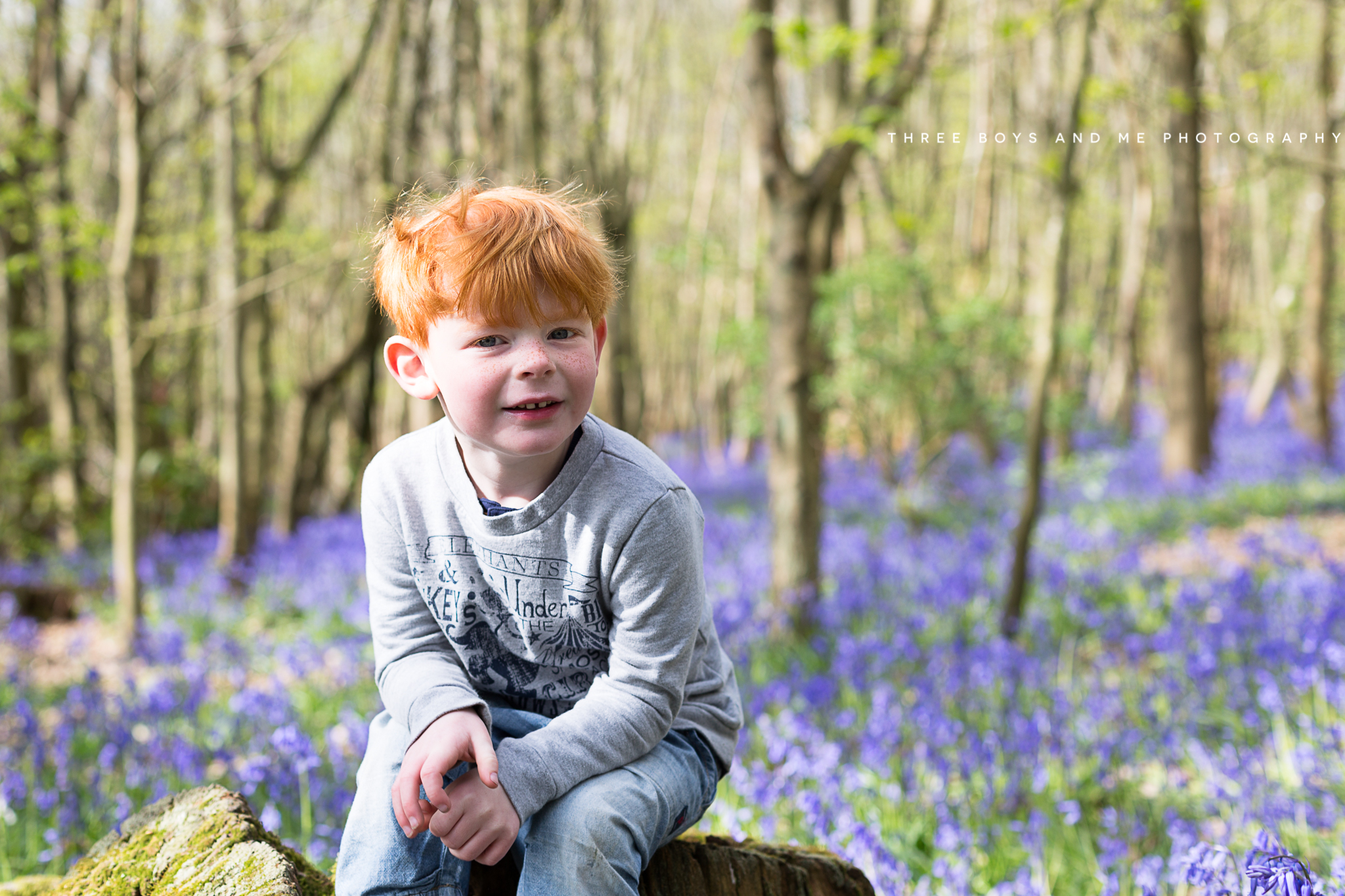 bluebell children photography, bluebell family photography, photoshoot in the bluebells