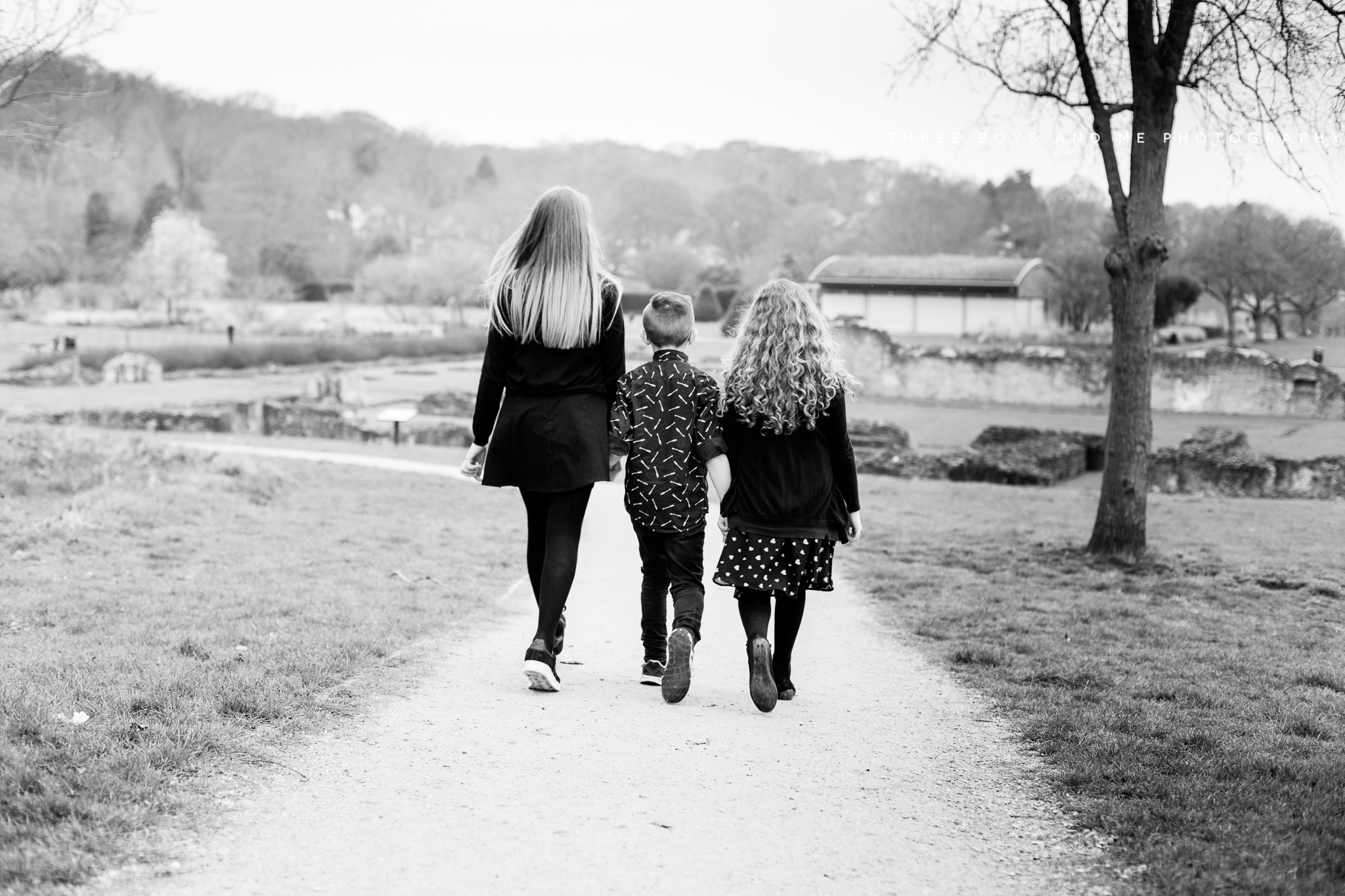 documentary family photography bexley Lesnes Abbey Ruins Abbeywood
