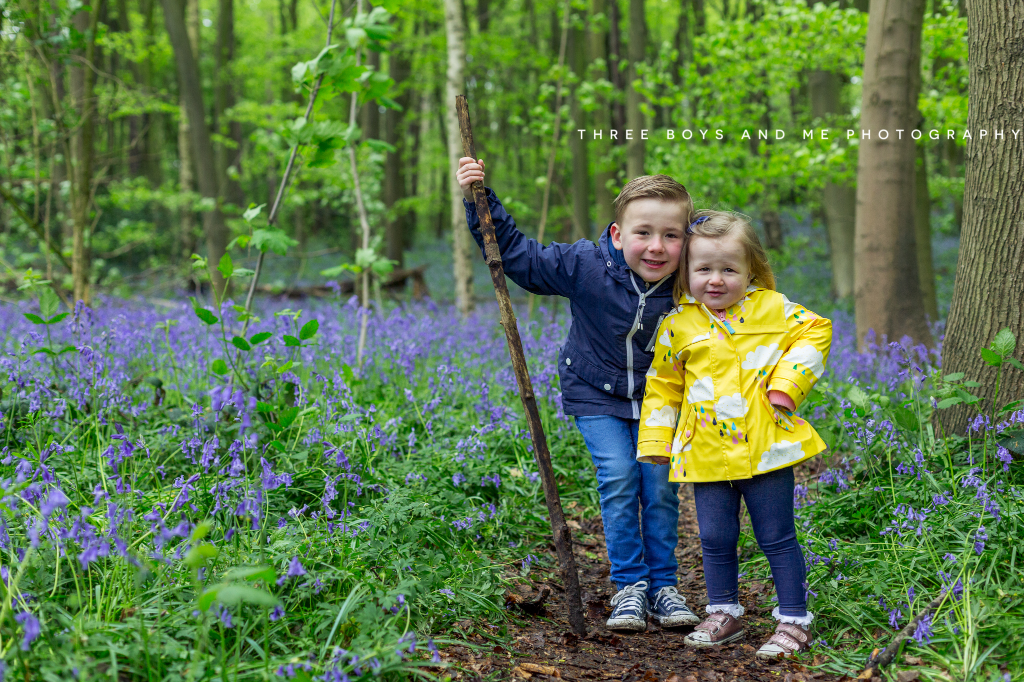 bluebell children's photography Bexley and Sevenoaks