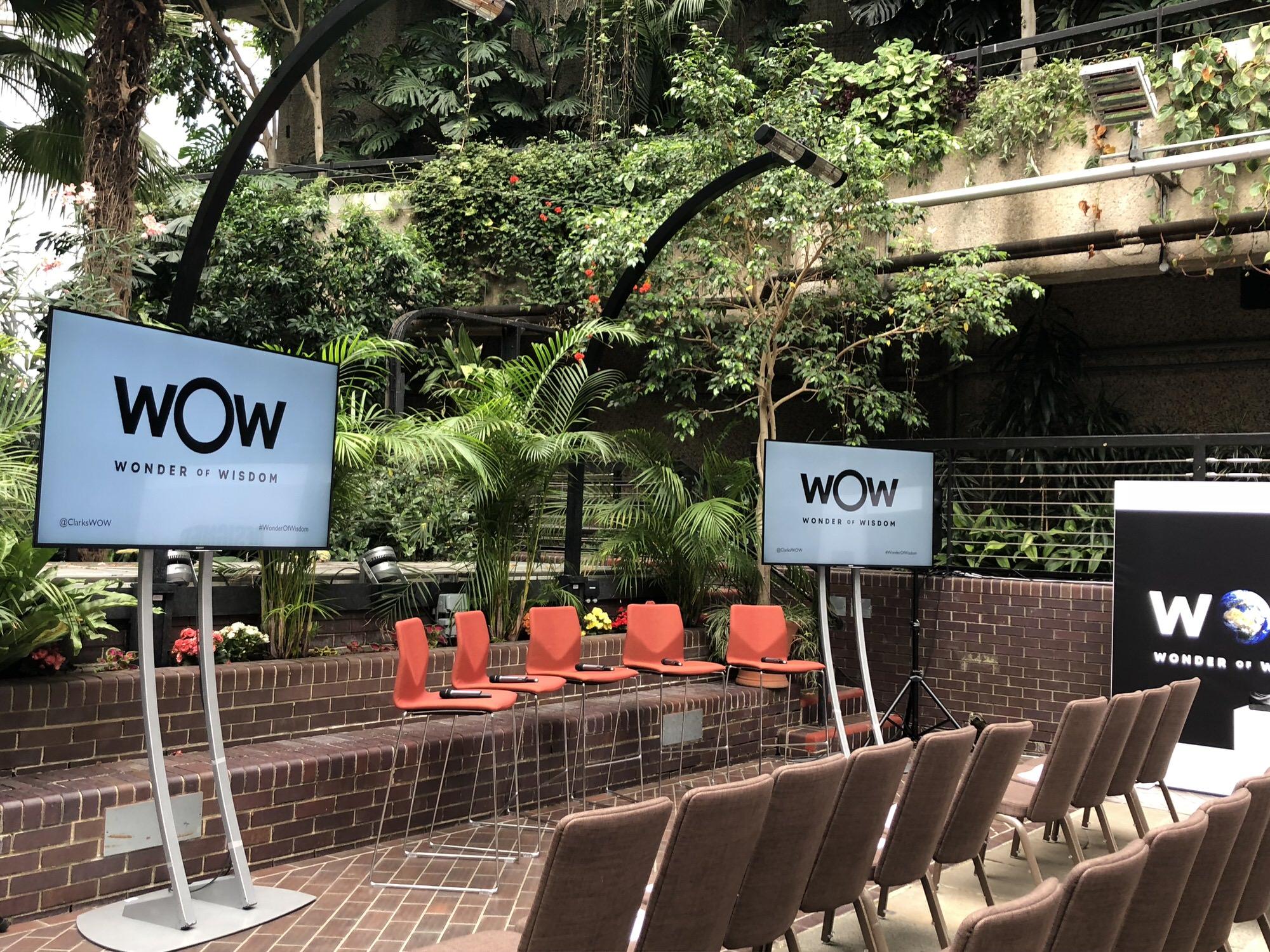 Clarks AW18 Wonder of Wisdom launch #WonderofWisdom @ClarksWOW