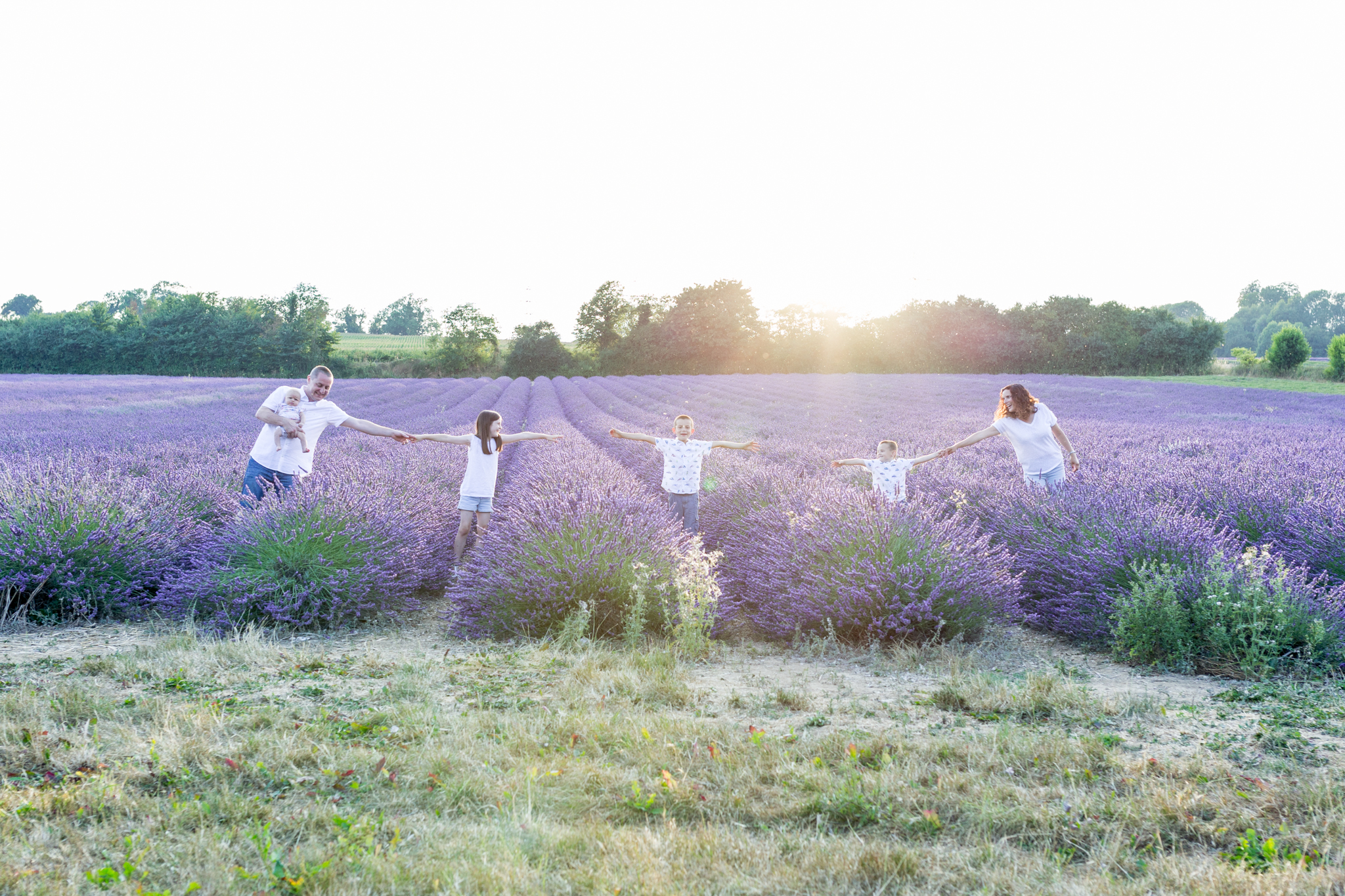 Lavender photoshoots Shoreham Kent July 2018