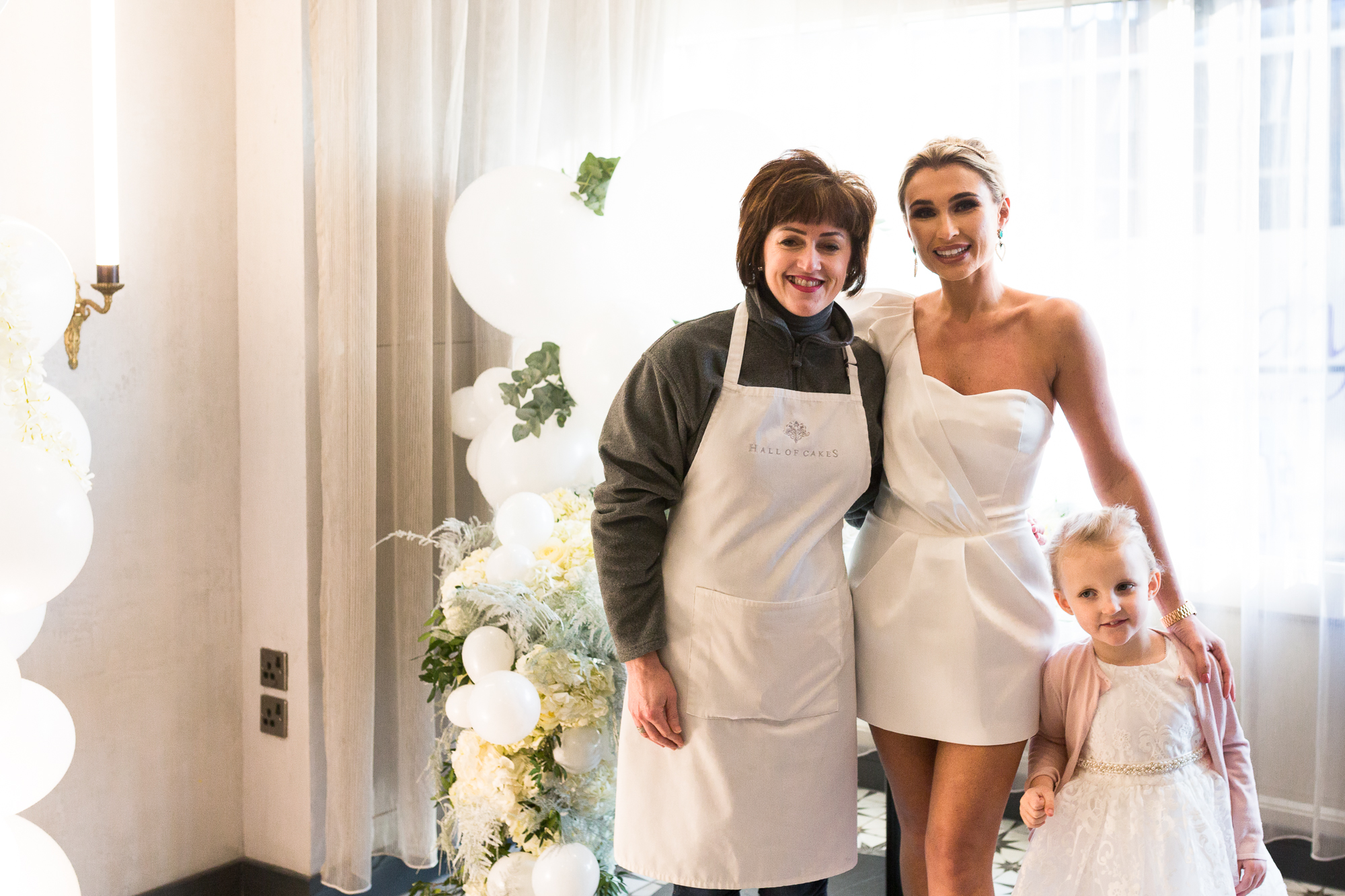 Billie Faiers Wedding shower party, covered by OK! Magazine, and ITV 2