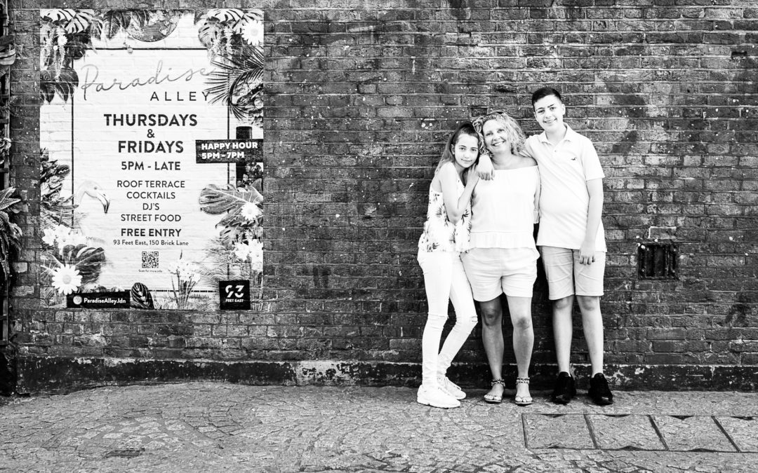 A Brick Lane photoshoot for my very good mate Jo!