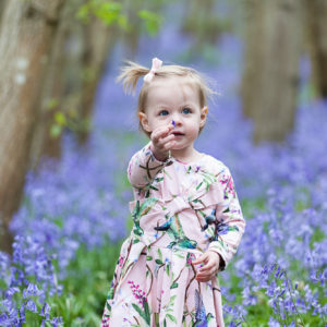 Bluebell photoshoots by Nina Callow 3B&ME photography London / Kent