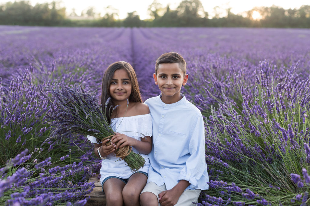 Lavender photographer Nina Callow of 3B&ME photography London and Kent
