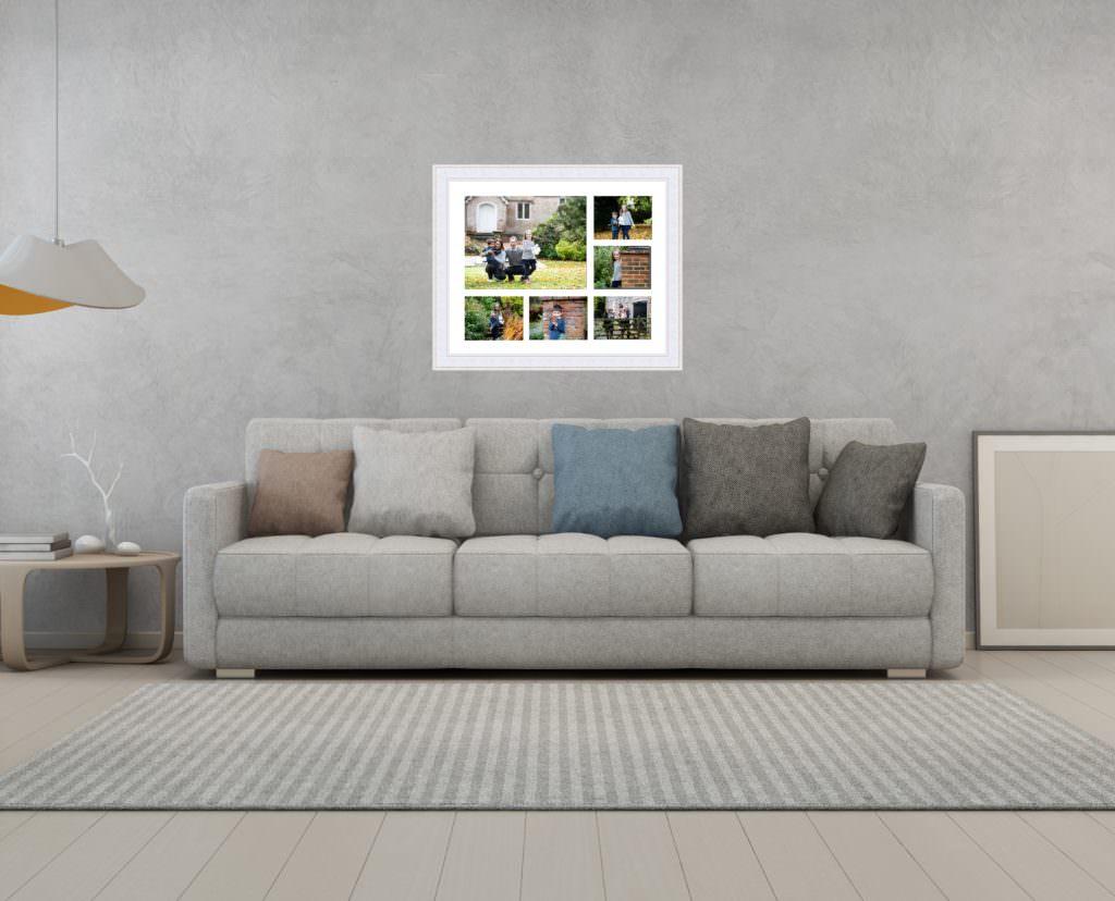 Autumn frame wall art available at my Sevenoaks family photoshoots